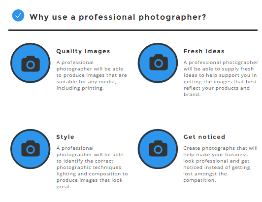 why use a pro photographer