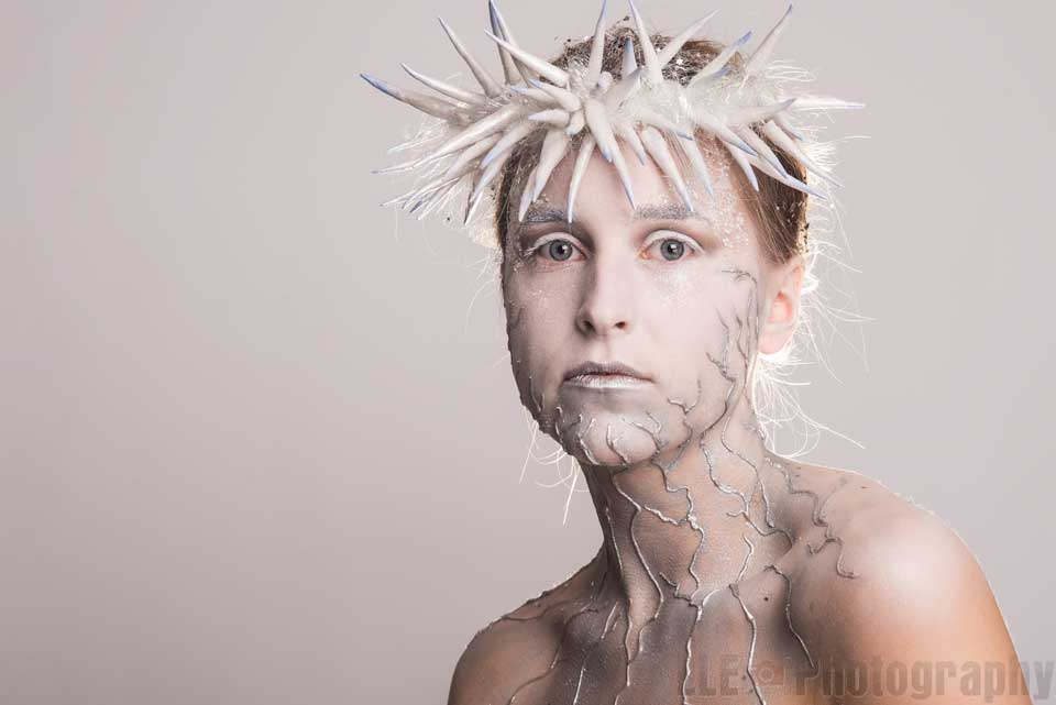 Studio Portrait Photography Ice Queen
