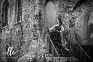 Gothic Portrait Photography in Cornwall