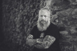 Bearded Male Photography Shoot at Godrevy in Cornwall