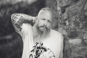 Bearded Model Photography Shoot in Cornwall