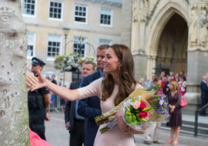 HRH The Duke and Duchess of Cambridge visit to Truro Cathedral