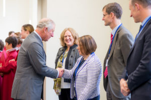 HRH The Duke of Cornwall visit to Truro Cathedral