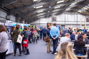 A busy GrowthFest 2018, event photographed by LLE Photography at Cornwall Showground, September 2018