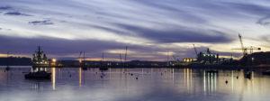 Falmouth harbour sunrise