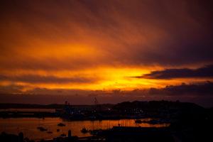 Photography of Falmouth Sunrise, Cornwall