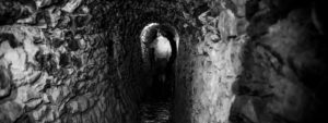 Mine entrance hidden in plain sight