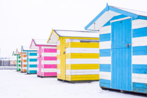 Cornwall documentary photography, Falmouth in the snow