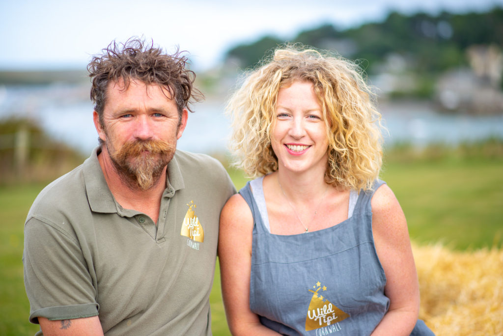 Promotional Photography in Cornwall Wild Tipi Cornwall