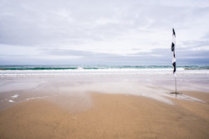 Cornwall beach by cornish photographer LLE Photography