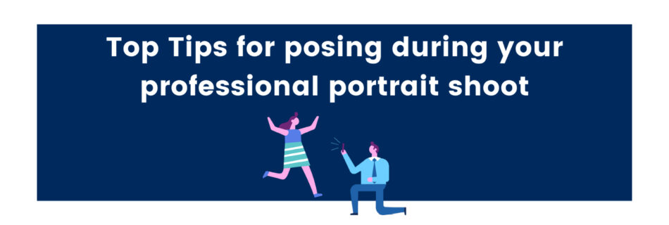Not keen on having your photo taken? Here I take you through my top tips for posing during your professional portrait shoot.
