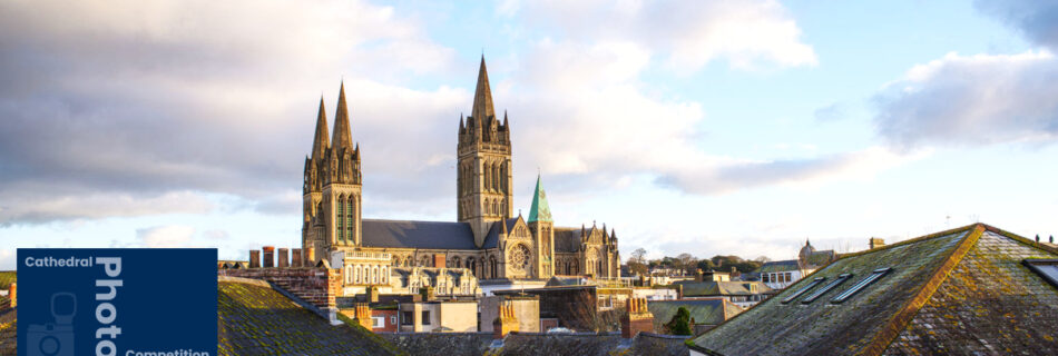 Truro Cathedral Photo competition - A picture of Truro Cathedral taken in the early morning