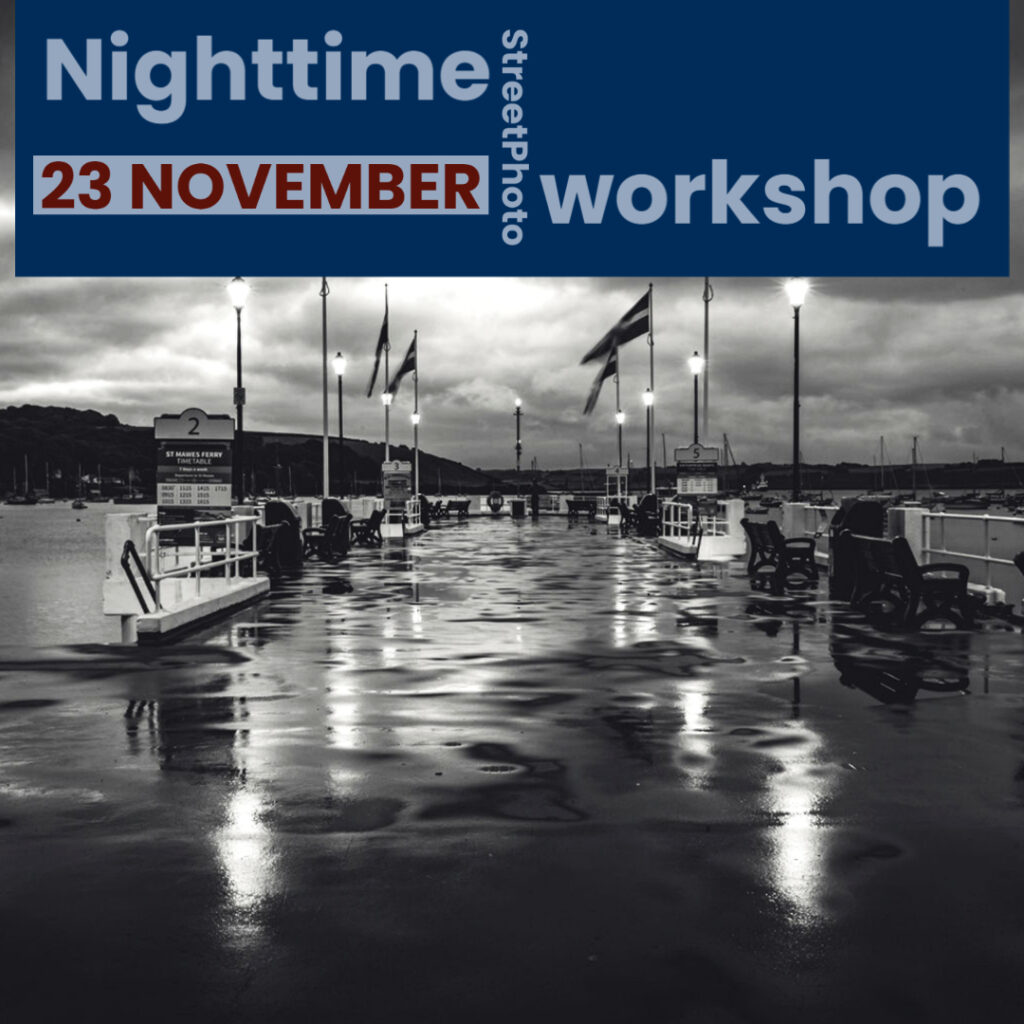 Night Street Photography Workshop Falmouth